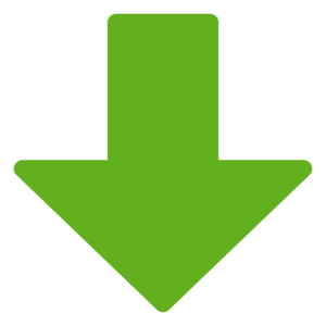 green downward arrow
