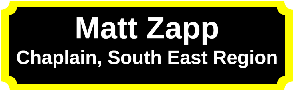 Matt Zapp / Chaplain, South East Region